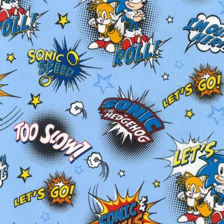Blue Sonic by Sega