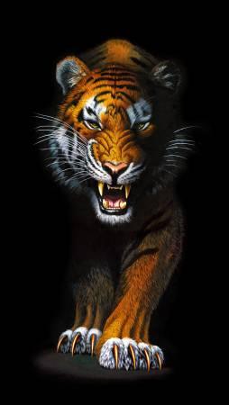Wild Tiger Digital Print