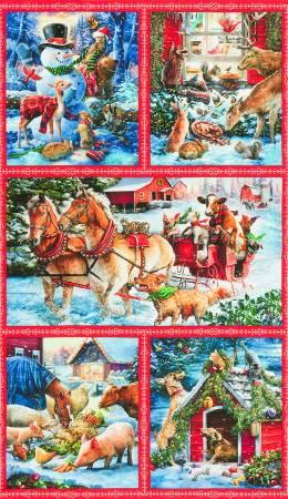 Holiday Snow Pals Digital Panel