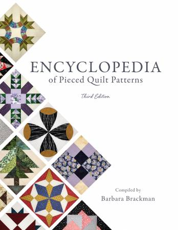Encyclopedia of Pieced Quilt Patterns (3rd Edition) - Softcover Book