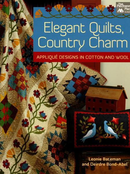 Elegant Quilts Country Charm - Softcover
