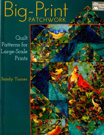 Big-Print Patchwork - Softcover - B1154T