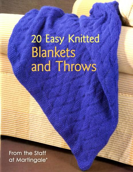 20 Easy Knitted Blankets and Throws - Softcover