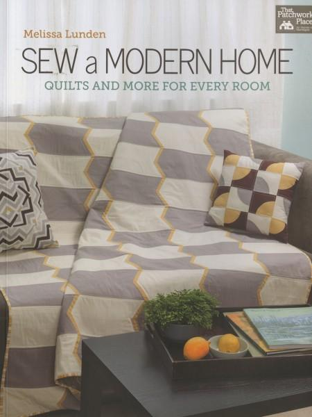 Sew A Modern Home - Softcover