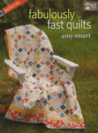 Fabulously Fast Quilts (12 Patterns) - Softcover - Amy Smart