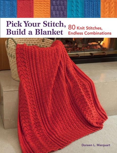 Pick Your Stitch, Build A Blanket - Softcover