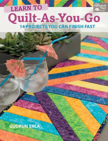 Learn to Quilt-As-You-Go - Softcover