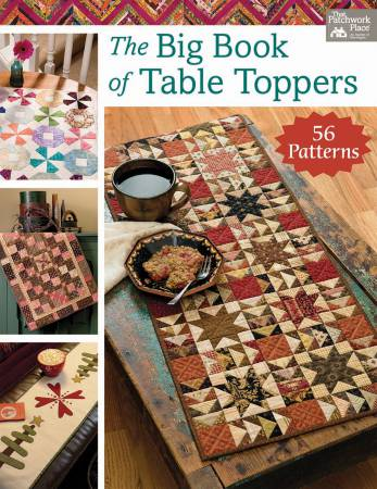 Big Book of Table Toppers - Softcover Book