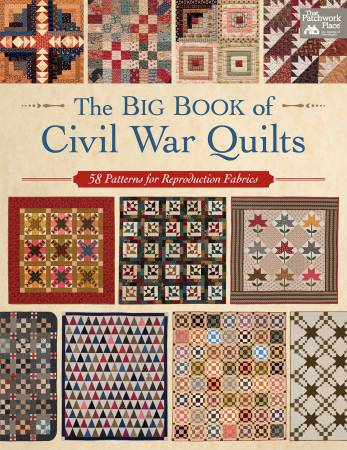 Big Book of Civil War Quilts - Softcover