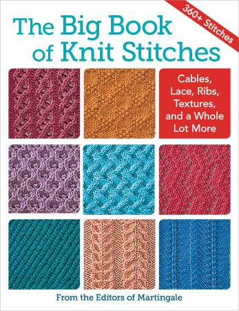 Big Book of Knit Stitches - Softcover
