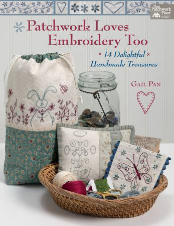 B1450T Patchwork Loves Embroidery Too