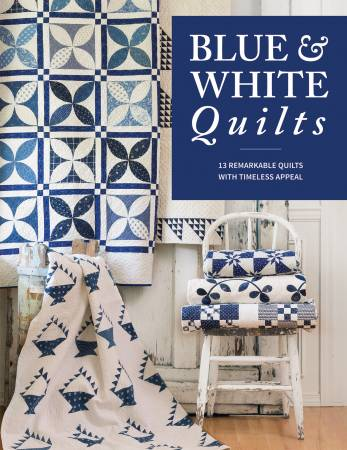 BK Q Blue & White Quilts
