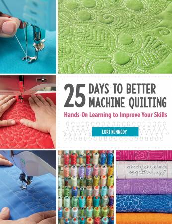 25DAYS TO BETTER MACHINE QUILTING