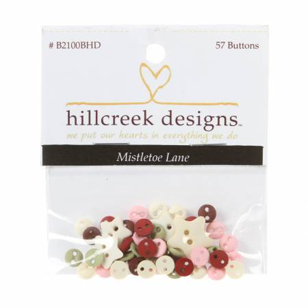 Mistletoe Lane Button Pack