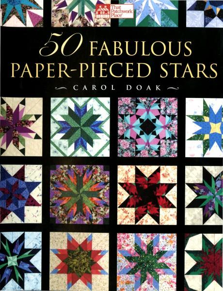 50 Fabulous Paper-Pieced Stars (with bonus CD ROM)