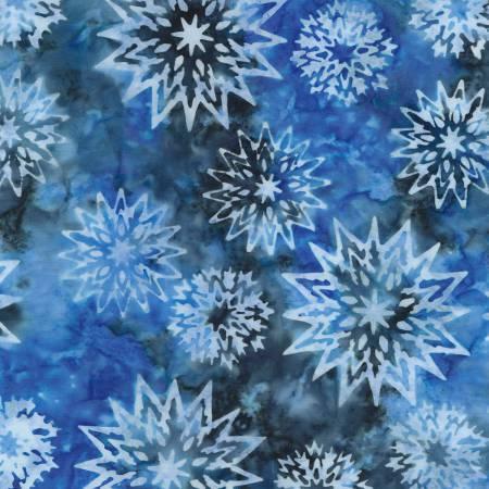 Baltic Batik Snowflake Mix Tonga-B4007 Baltic