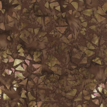Brown Antique Garage Batik Tonga B4394-Brown