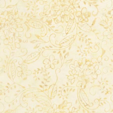 *Ivory Jasmine Bunches Tonga Batik - B4914
