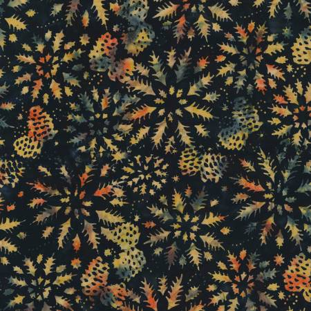 Wintry Mix Forest Batik