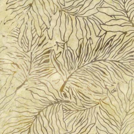 Forest Floor Tonga Batiks Moon Fern Print