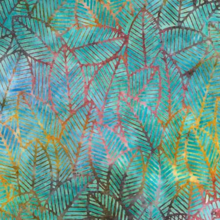 Aruba Rain Leaves Batik