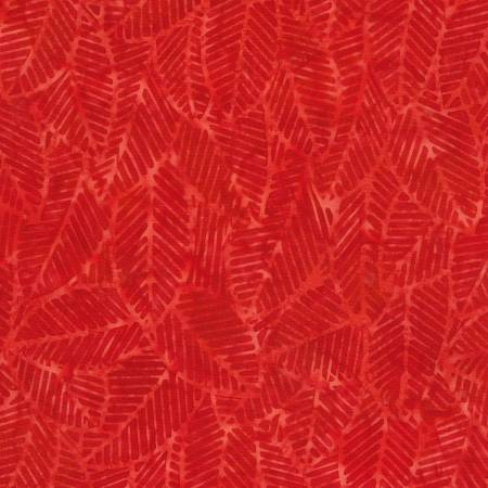 1906 Red Batik  Timeless Treasures