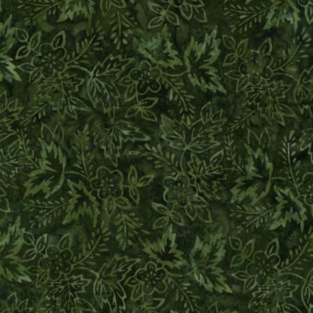 TONGA BLOOMING FIELDS - Vine Flower Power Batik