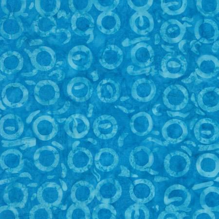 1 yd. Floatie Pool Batik Remnant