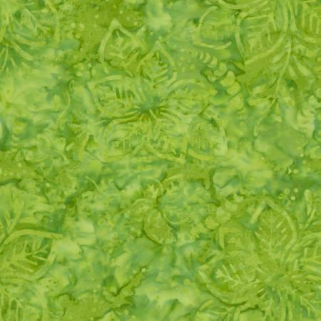Timeless Treasures Tonga Batik B6874 Grass Hibiscus