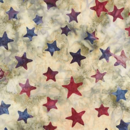 Timeless Treasures USA Patriot Batiks
