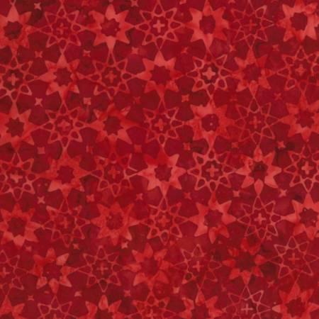 Patriot Tonga Batik B6941 Heritage (Red on red)