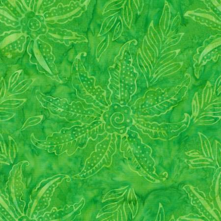 1906 Lime Batik  Timeless Treasures