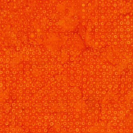 1906 Orange Batik  Timeless Treasures