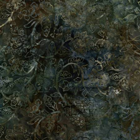 TONGA BATIK - CANYON: MALACHITE
