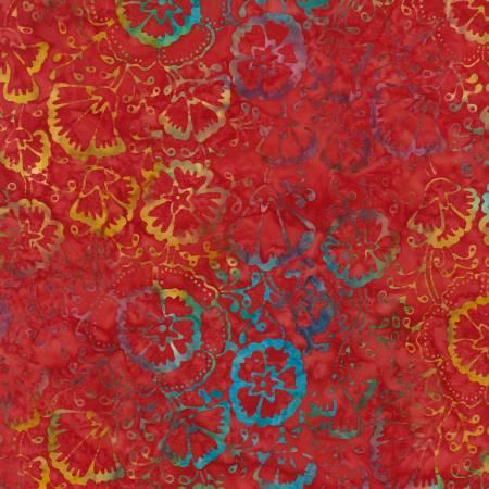 Scarlet Tonga Batik