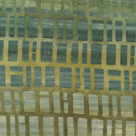 Timeless Treasures - Clay Brick Batik -  B7300 - Paris
