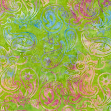 Lime Tonga Batik