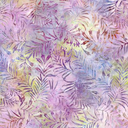 Tonga Tulip Spruce Needles Sunrise Batik