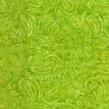 Playful Lime Batik