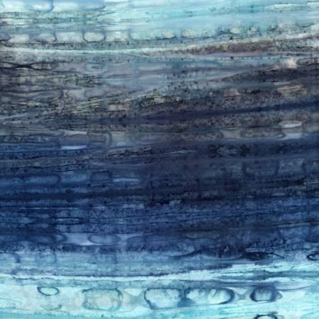 Mountain Landscape Stripes Batik