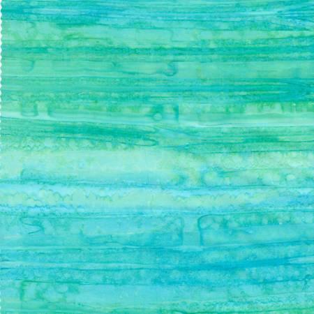 Ocean Landscape Stripes Batik