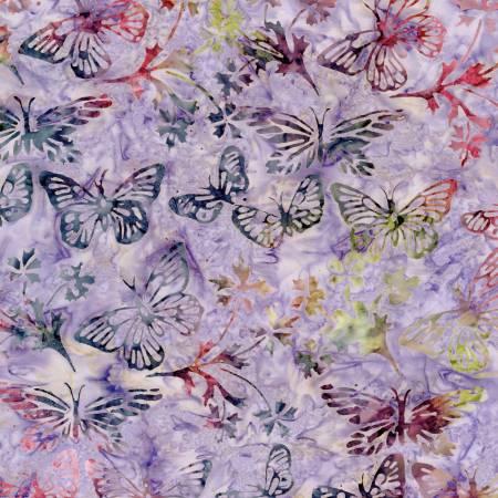Tonga Tulip Hyacinth Butterflies Batik