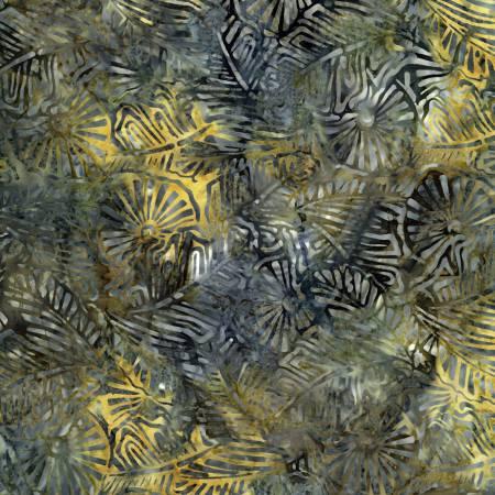 Montauk Sea Pinwheel Tropical Foliage Batik
