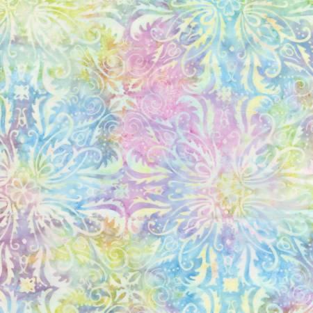 Batik Romance Symmetrical Floral Tiles
