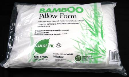 100% Bamboo Pillow Form 12in x 16in 8ct