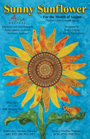 Sunny Sunflower - Aug on USB