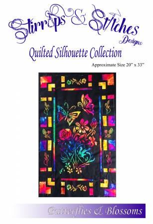 Butterflies & Blossoms - Quilt Silhouette Kit