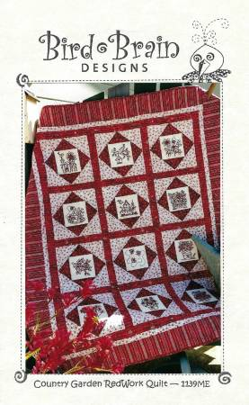 Country Garden Quilt Machine Embroidery