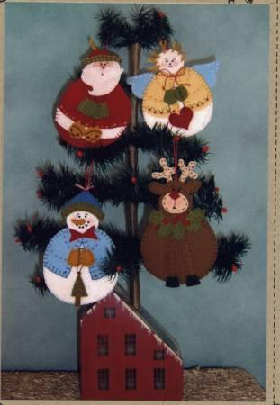 Roly-Poly Woolen Ornaments