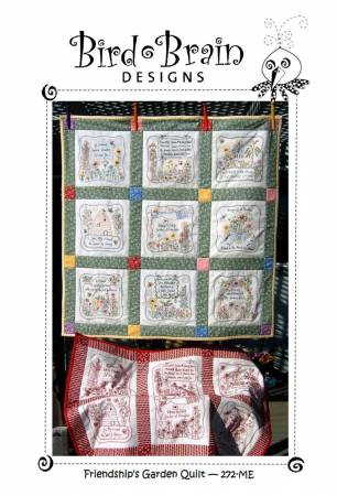 Friendship Garden Quilt CD